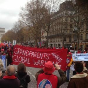 Les Grands-parents à Paris le 12 dec 2015