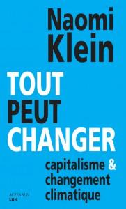 Tout peut changer -Naomi Klein