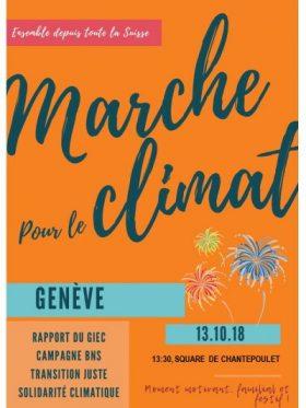 Marche climat Genève