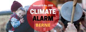 FLASH info : Alarme Climatique ! samedi 8 déc. 2018 à Berne, Genève, Neuchâtel