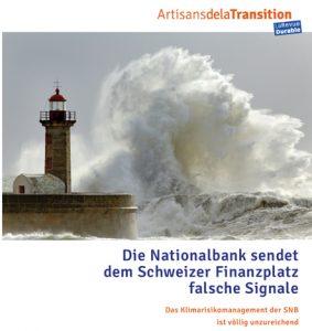 Info-FLASH :  Die Bohrtürme der SNB  –  24. April 2020