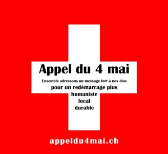 FLASH info :  29 avril 2020 : Manifestation virtuelle du 3 mai – Appel du 4 mai