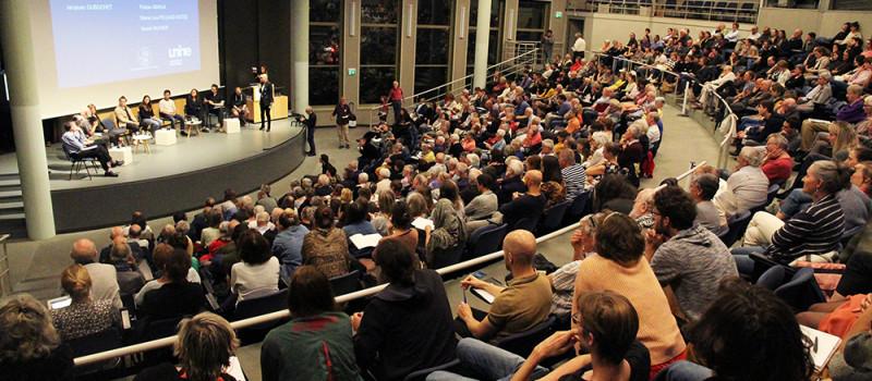 24 septembre 2019, Reflets en images de la Conférence-table ronde à l'Université de Neuchâtel
